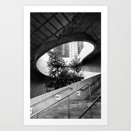 Chicago Stairway Art Print