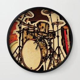 Drumz Wall Clock