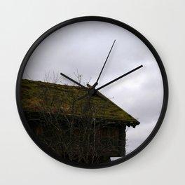 Swedish Dwelling Wall Clock