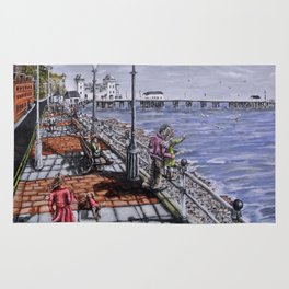 Penarth Seafront Rug