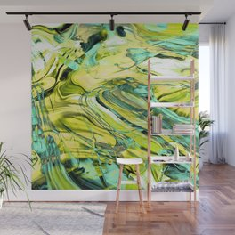 ABSTRACT COLORFUL PAINTING III Wall Mural