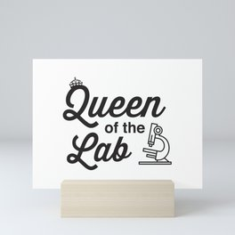 Queen Of The Labs Mini Art Print