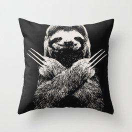 Sloth X-men Throw Pillow