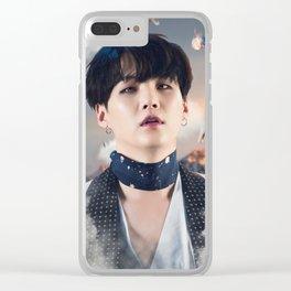 """Suga """"MIC Drop"""" Clear iPhone Case"""