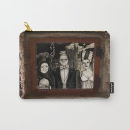 Downton Abbey Normal (Young Frankenstein Mashup) Carry-All Pouch