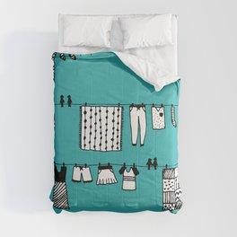Laundry Doodle Comforters