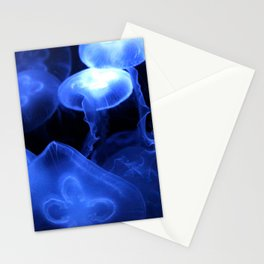 Jelly fish Meduse Stationery Cards