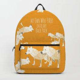 Totem wolf nubilus (pair) Backpack