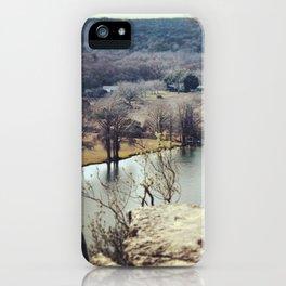 Lake Austin Bend iPhone Case