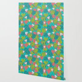 Monstera Tropical Wallpaper