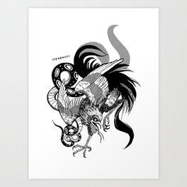 Sriracha Wyvern Art Print