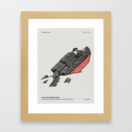 LOAD OF SCRAP Framed Art Print