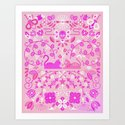 Kitten Lovers – Pink Ombré by catcoq