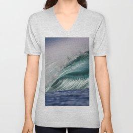 Silver Swells Unisex V-Neck