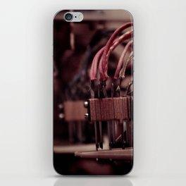 Inside a Pinball Machine No. 4 iPhone Skin