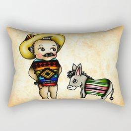 Mexican Kewpie Rectangular Pillow
