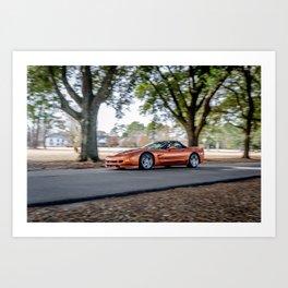 C5 Chevrolet Corvette Z06 Art Print