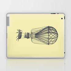 Discovery (grey on yellow) Laptop & iPad Skin