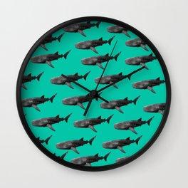 Big Fish, B & W Wall Clock