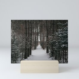 Winter Woods | Landscape and Nature Photography Mini Art Print