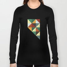 Geometric Nevada Long Sleeve T-shirt