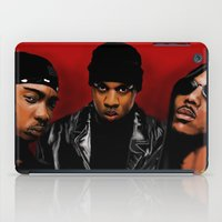 monster inc iPad Cases featuring Murder Inc. by Spiro 1230