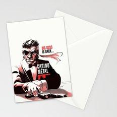 METAL GEAR: Casino Metal Stationery Cards
