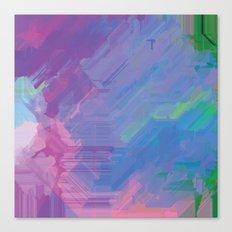 Glitchy 2 Canvas Print