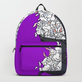 Big Cauldron of Rabbits Backpack