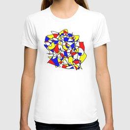 Mondrian Sneeze T-shirt