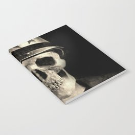 Skull Graphic design Notebook