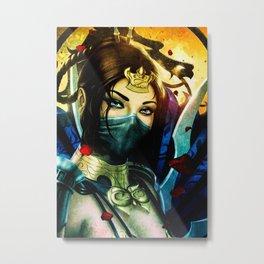 Kitana Metal Print