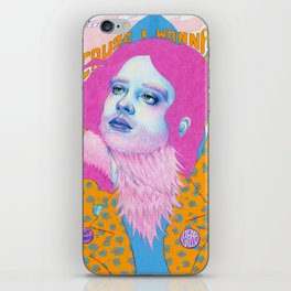 Natalie Foss x Deap Vally iPhone Skin