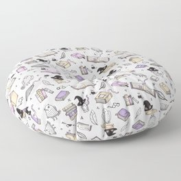 Wizard's Library Floor Pillow