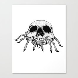 Creepy Crawler Canvas Print