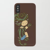 charlie iPhone & iPod Cases featuring Charlie by Rachel Isaacs