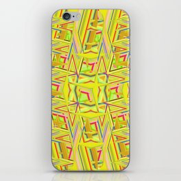 Abstract BB ZZZZ iPhone Skin