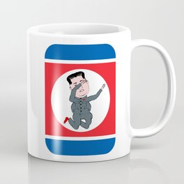 North Korea Dabbing Coffee Mug