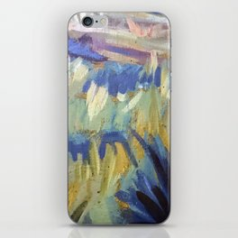 Dreamy Abstract Flowers Painting iPhone Skin