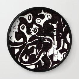 Syncopated Pandemonium Wall Clock