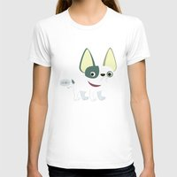 frenchie T-shirts featuring Frenchie by Fabio Rex