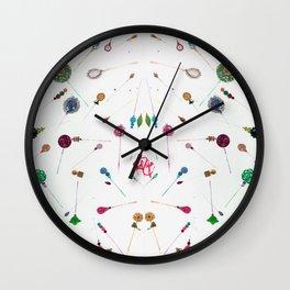 Hijab Pins Wall Clock