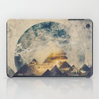 anna iPad Cases featuring One mountain at a time by HappyMelvin
