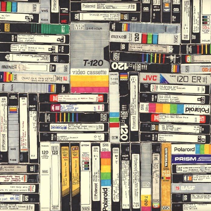 VHS Duvet Cover