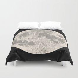 Full Moon Print (natural), by Christy Nyboer Duvet Cover