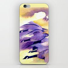 Canada Geese - Westering Home iPhone & iPod Skin