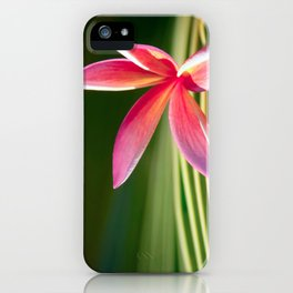 A Pure World iPhone Case
