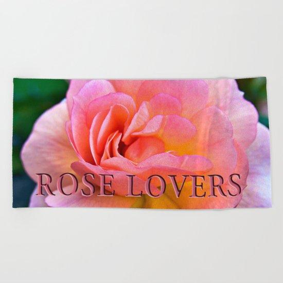 A ROSE is a ROSE Beach Towel