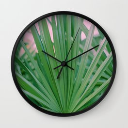 Plants of Paradise Wall Clock
