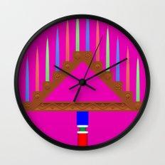 Ramo leonés Wall Clock